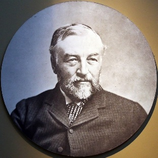 Samuel Pierpoint Langley, who developed the bolometer in 1878. His instrument detects a broad range of infrared wavelengths, sensitive to differences in temperature of one hundred-thousandth of a degree Celsius (0.00001 C).