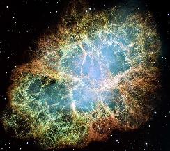 M1 - The Crab Nebula (image credit NASA)