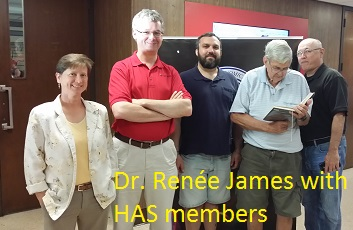 Members with Dr. Renee James