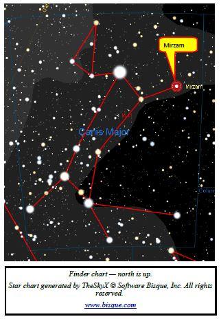 Mirzam—A Beta (β) Cepheid Star