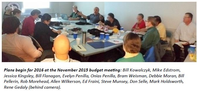 HAS Budget meeting